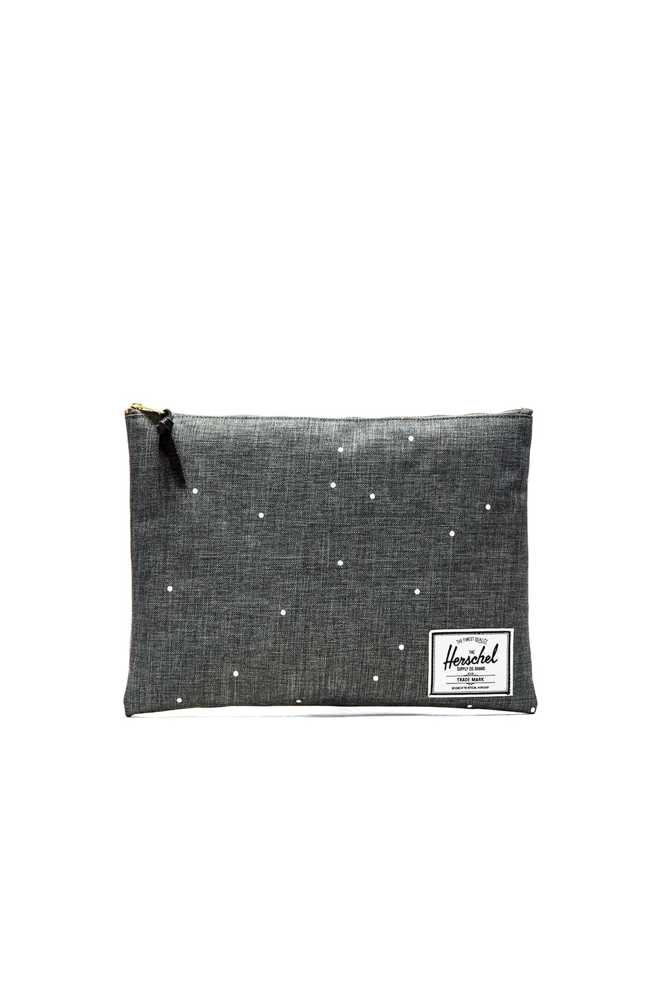 Herschel Supply Co. Network Pouch XL in Scattered Charcoal