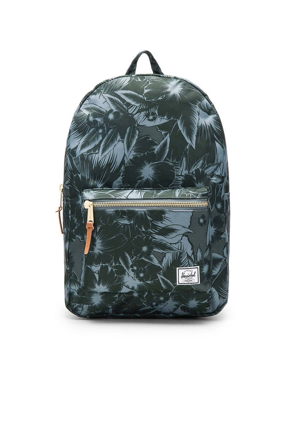 Herschel Supply Co. Settlement in Jungle Floral Green