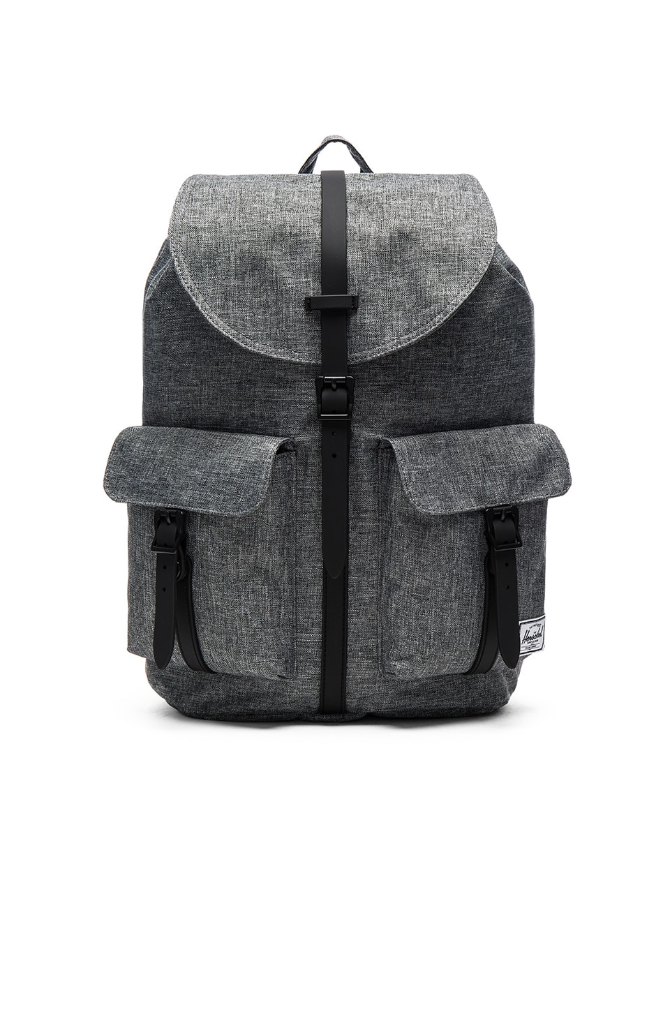 Herschel Supply Co. Dawson in Raven Crosshatch & Black Rubber