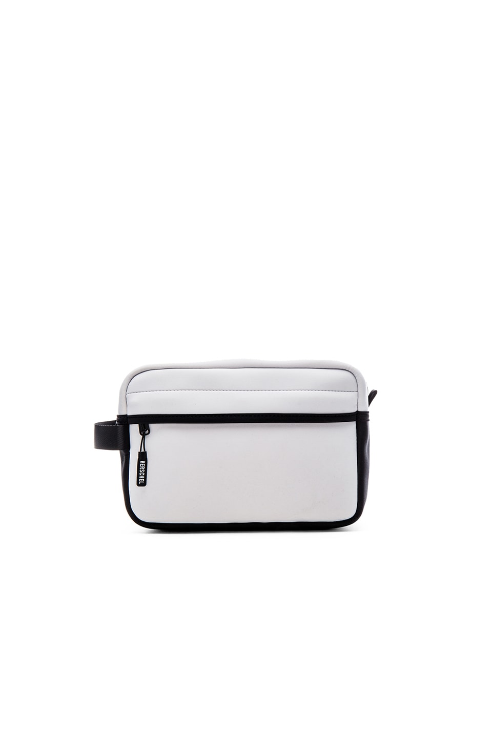 Herschel Supply Co. Chapter Travel Kit in White Neoprene