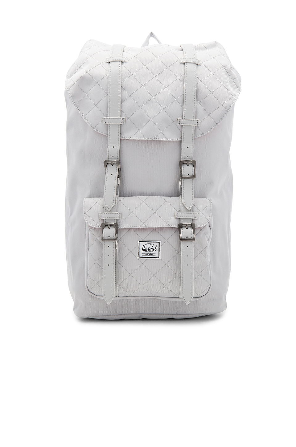 5844d5326db Herschel Supply Co. Little America in Lunar Rock Quilted