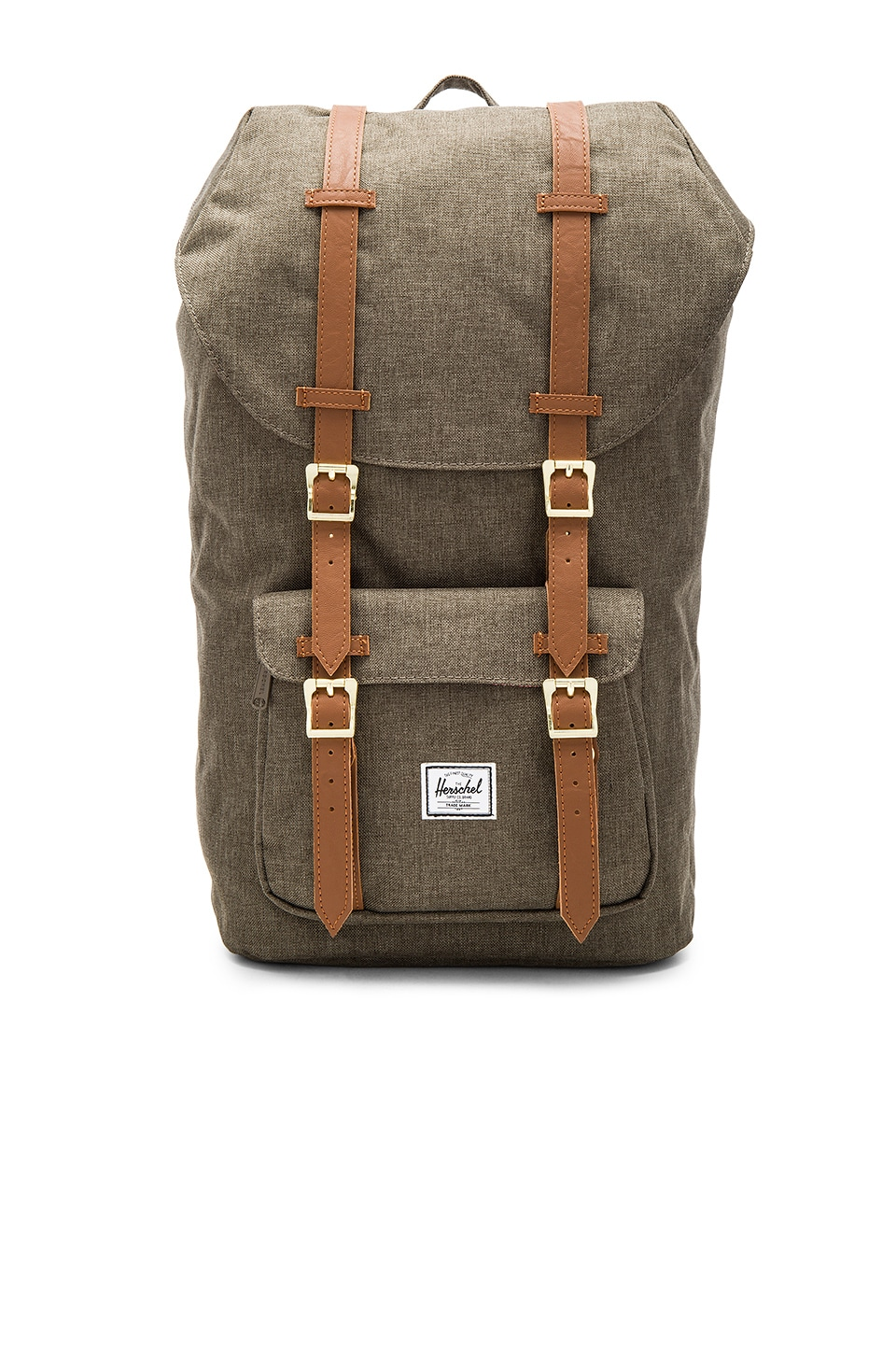 Herschel Supply Co. Little America in Canteen Crosshatch & Tan