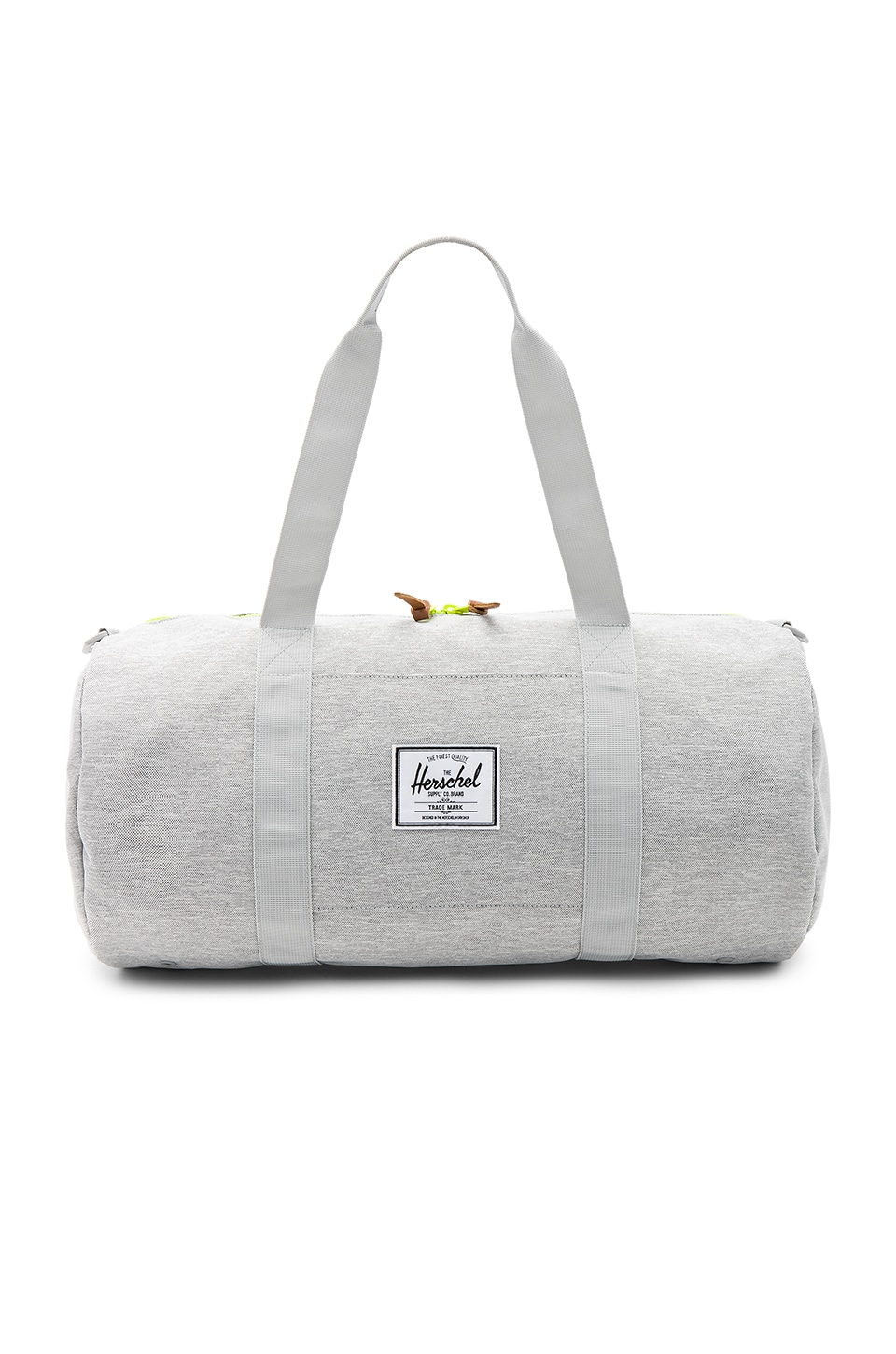 Herschel Supply Co. Sutton Duffel in Light Grey Crosshatch