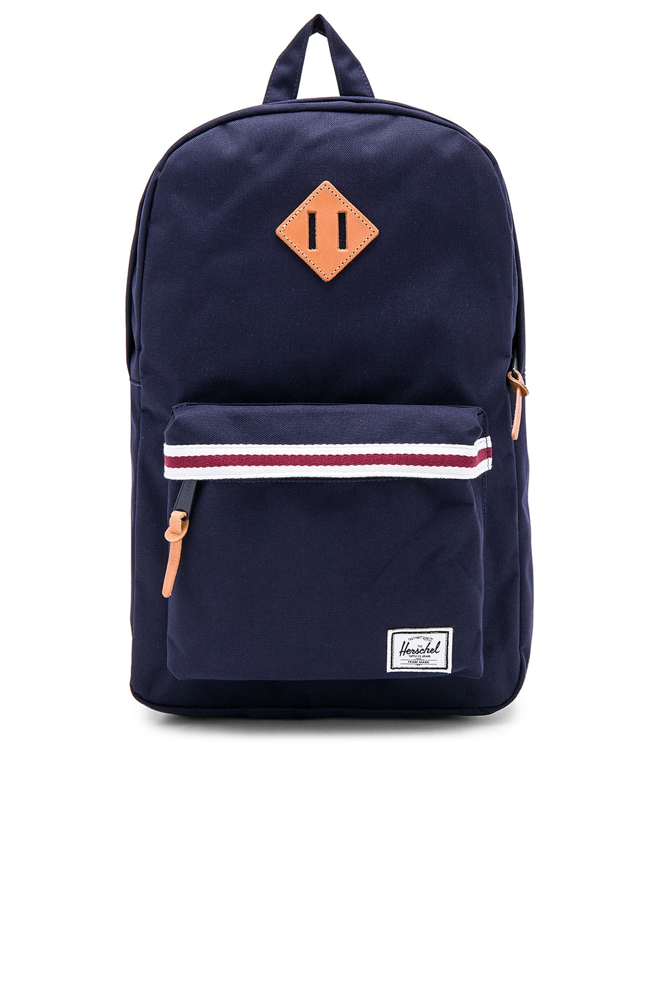 Herschel Supply Co. Heritage Mid-Volume Backpack In Navy. In Peacoat e0e0014b5de98
