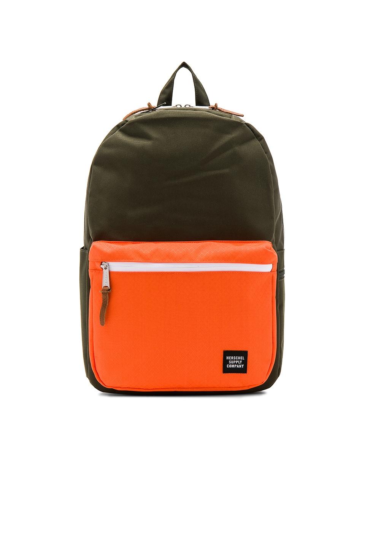 de76b69f6b2 Herschel Supply Co. Harrison Backpack In Forest Night   Vermillion Orange