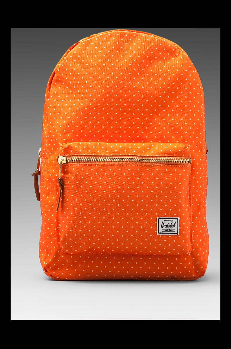 Herschel Supply Co. Sac à dos Settlement en Orange à Pois
