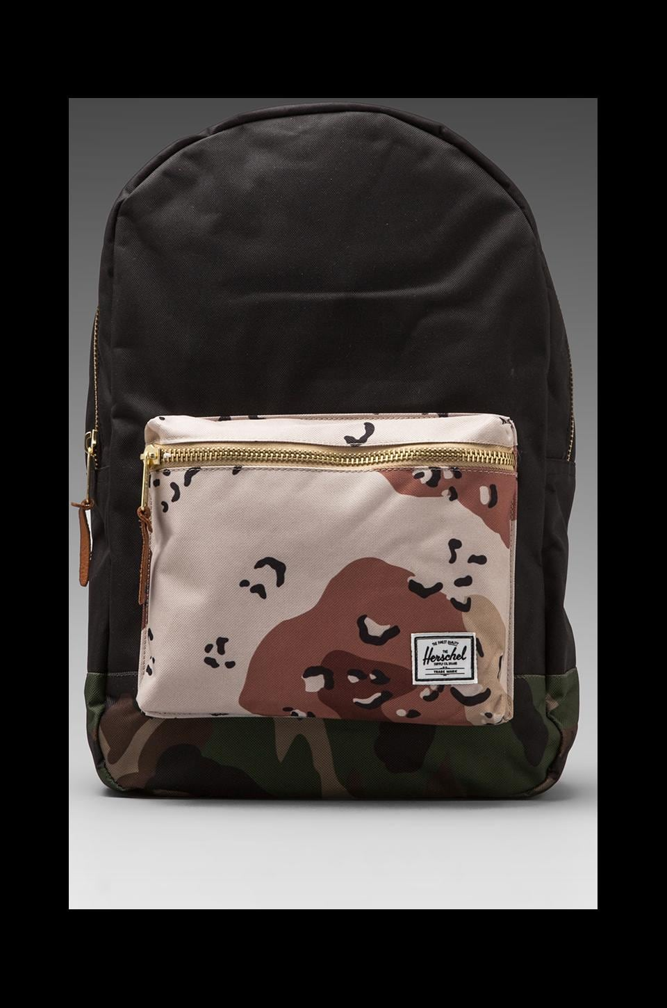 Herschel Supply Co. Sac à dos Settlement en Black/Desert Camo/Woodland Camo