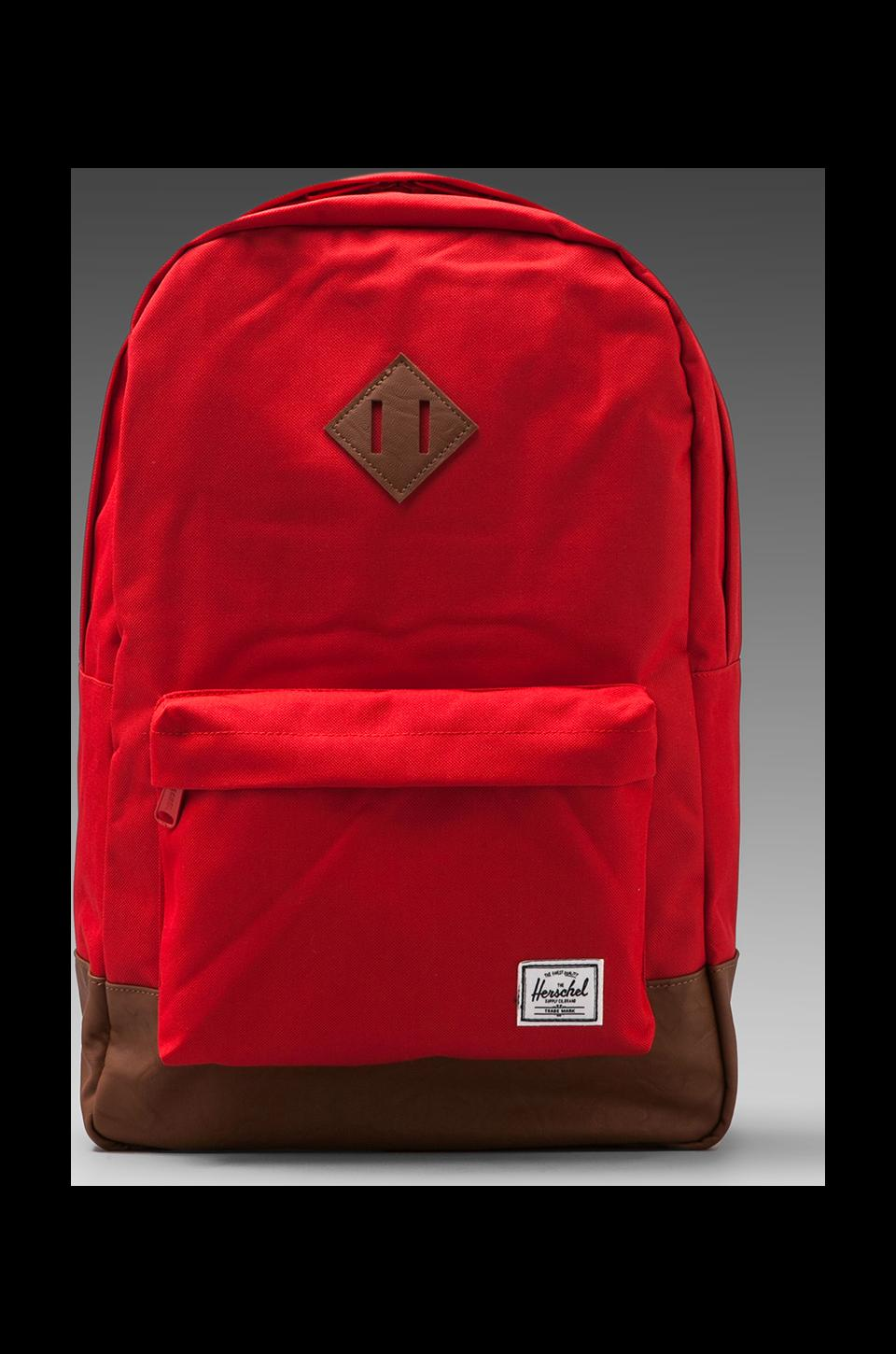 Herschel Supply Co. Heritage Backpack in Red