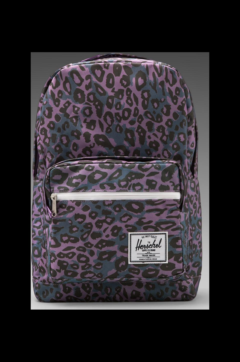 Herschel Supply Co. Sac à dos Pop Quiz en Léopard Violet