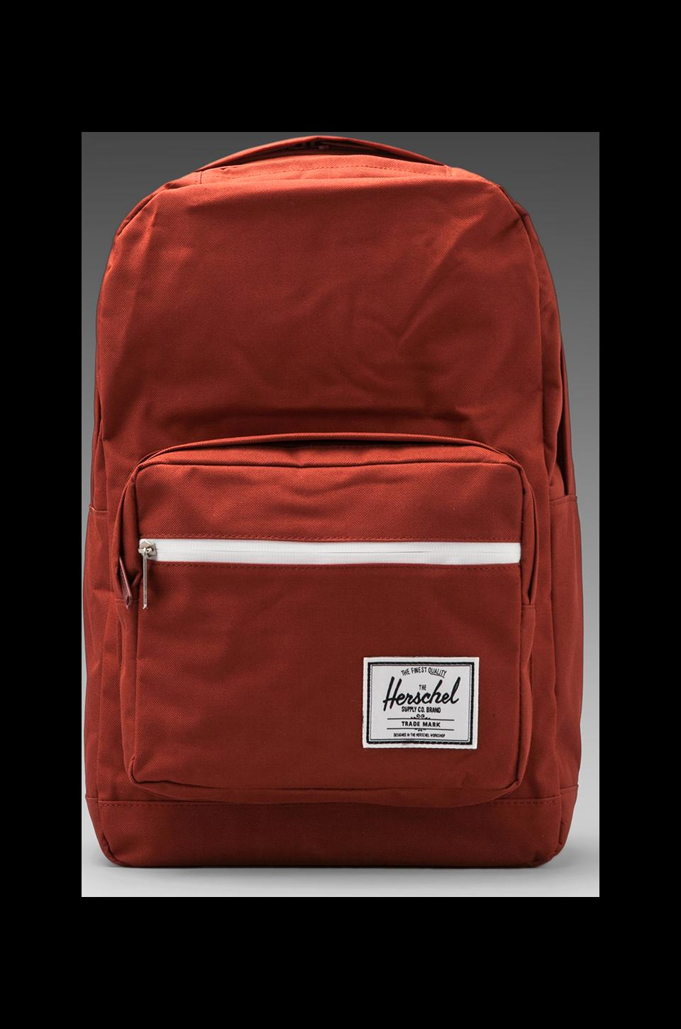 Herschel Supply Co. Pop Quiz Backpack in Rust/Rust