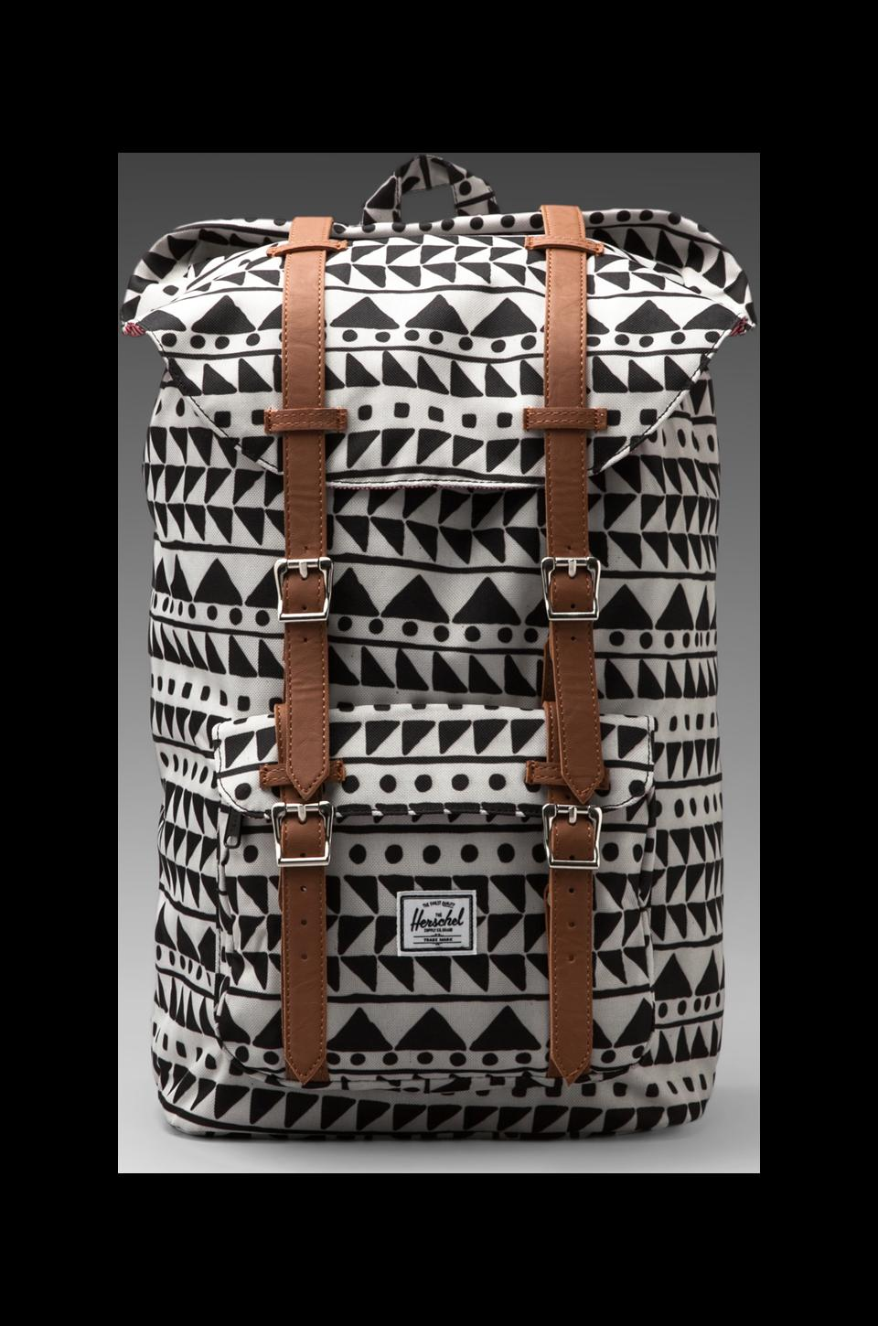Herschel Supply Co. Little America Backpack in Chevron Black