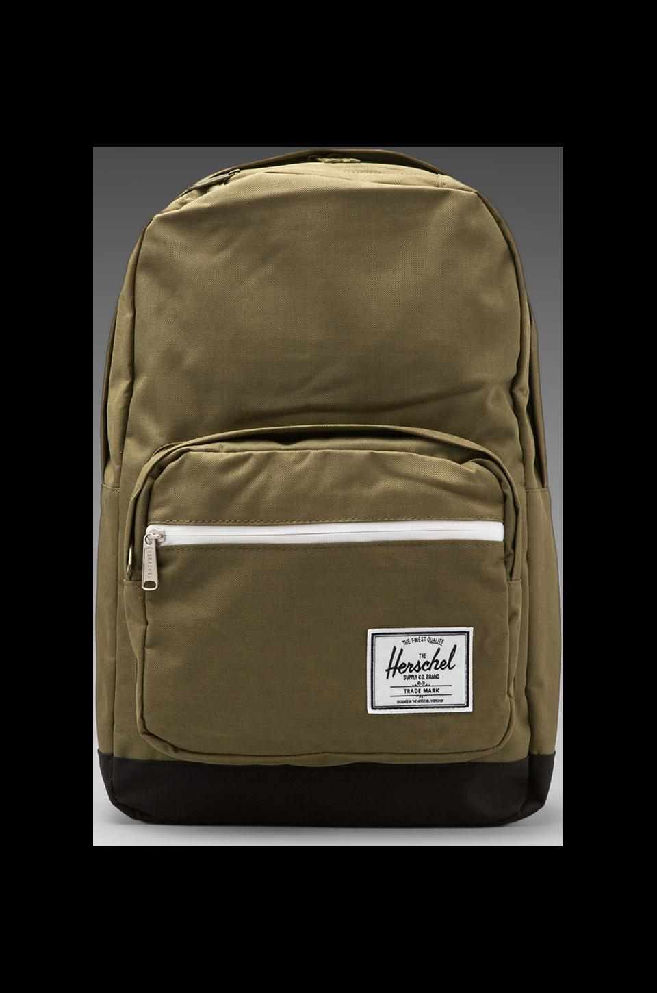 Herschel Supply Co. Pop Quiz Backpack in Army/Black