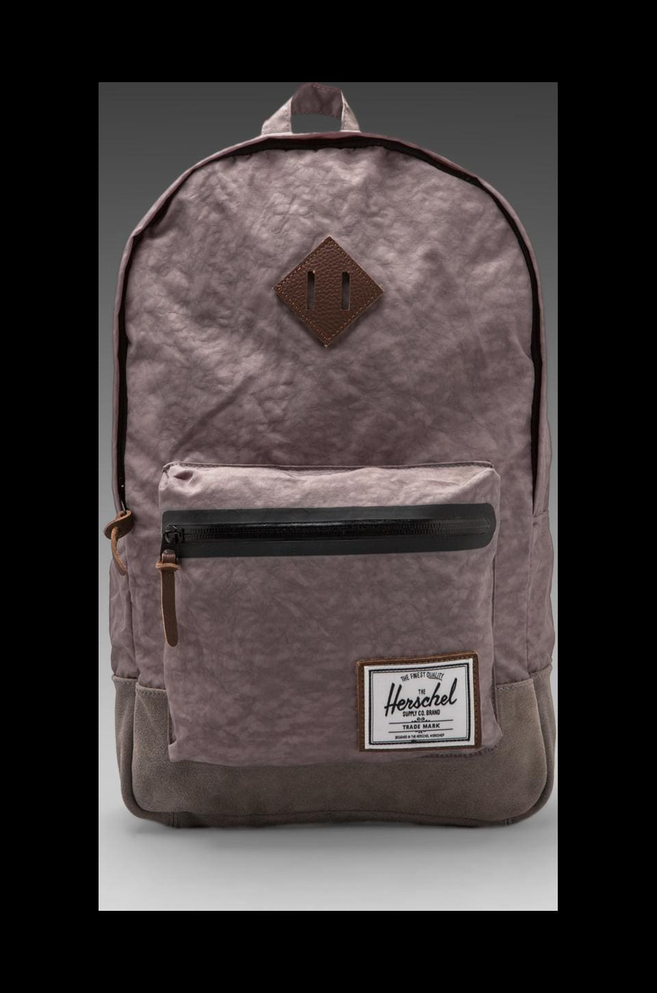 Herschel Supply Co. Sac à dos Collection Heritage Plus Bad Hills en Gris