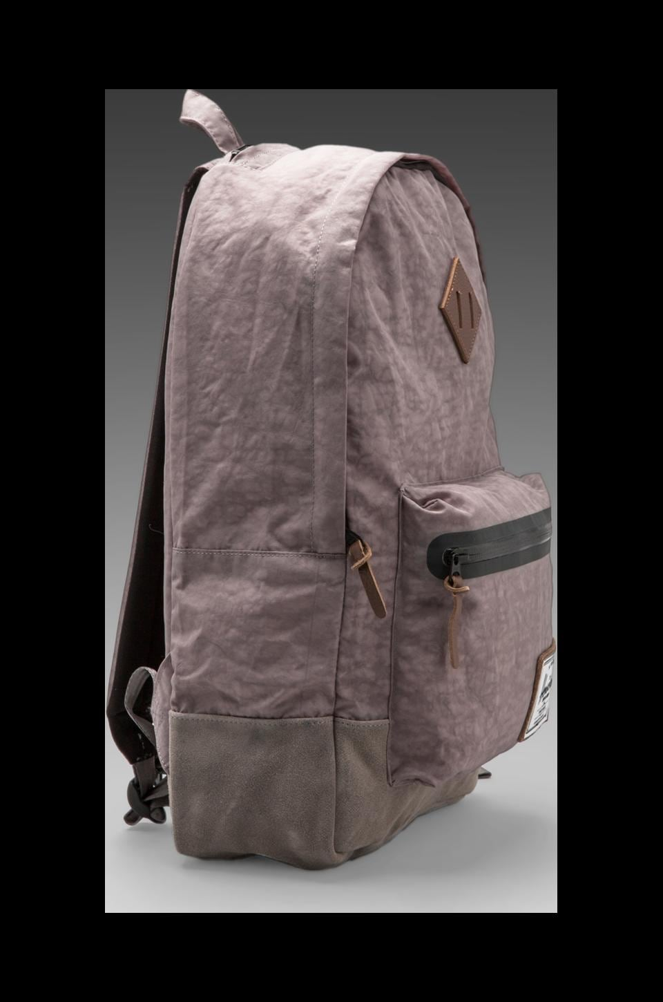 Herschel Supply Co. Bad Hills Collection Heritage Plus Backpack in Grey