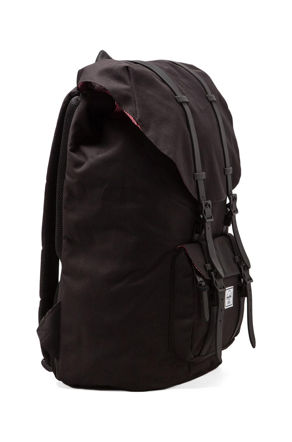 Herschel Supply Co. Weather Pack Little America in Black
