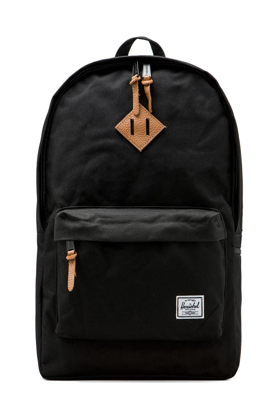 Herschel Supply Co. Heritage Plus Backpack in Black