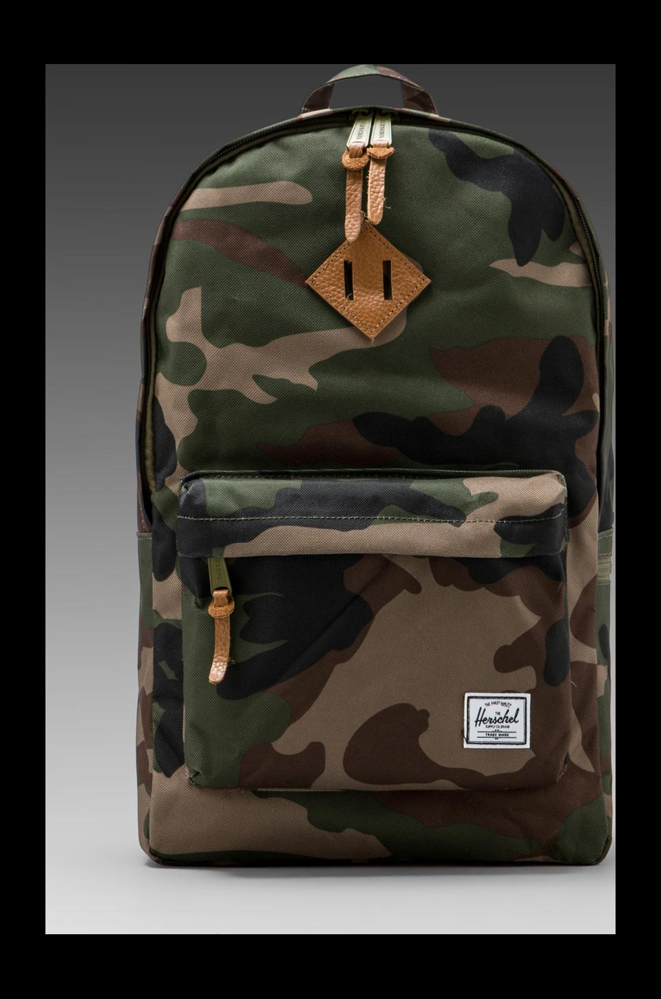 Herschel Supply Co. Heritage Plus Backpack in Woodland Camo