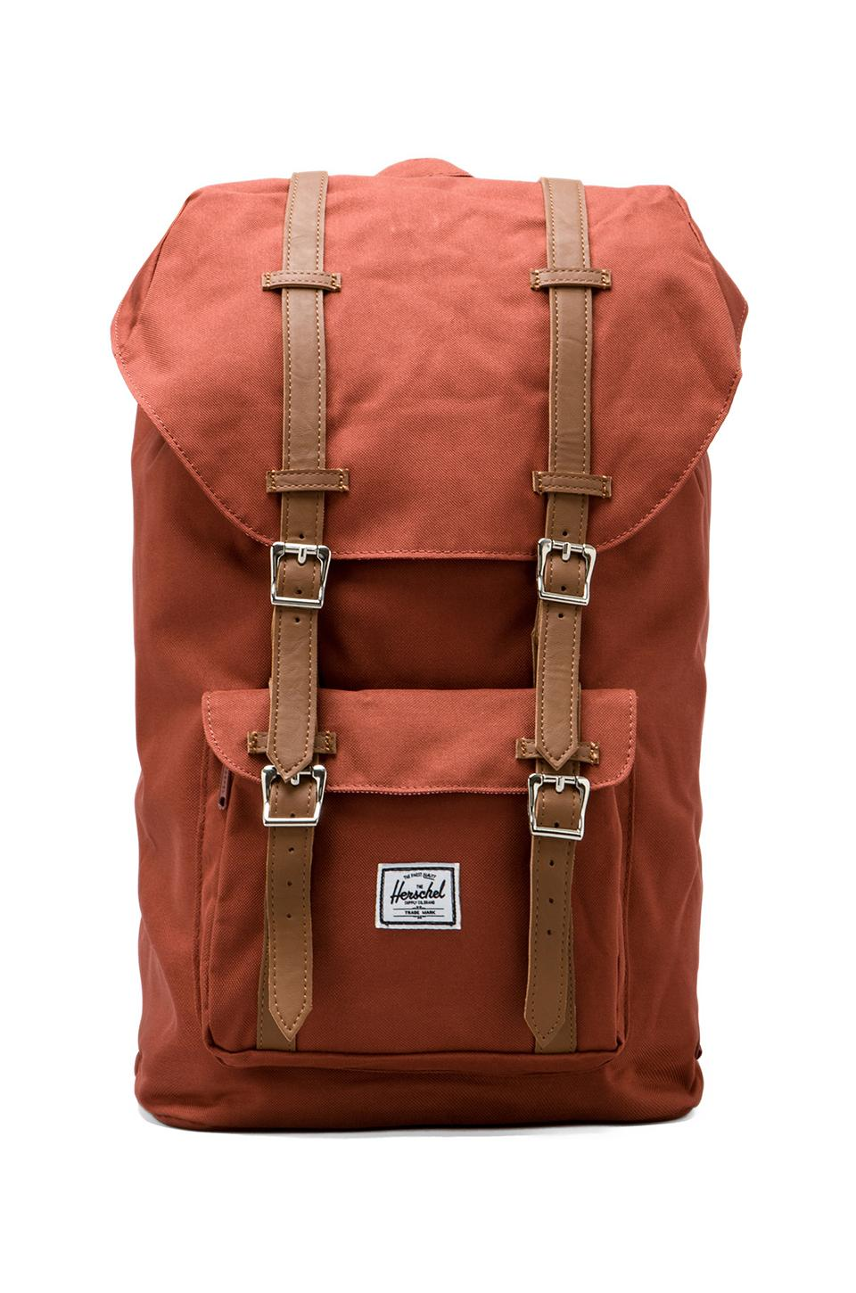 Herschel Supply Co. Sac à dos Little America en Rust