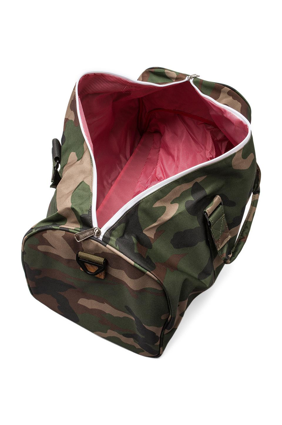 Herschel Supply Co. Novel Duffle in Woodland Camo