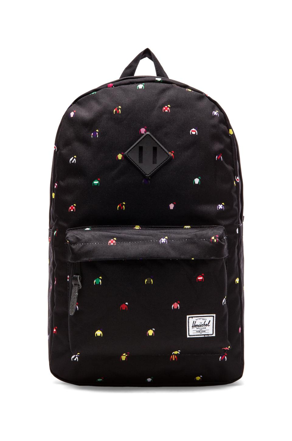 Herschel Supply Co. Limited Release Heritage Backpack in Jockey Jersey