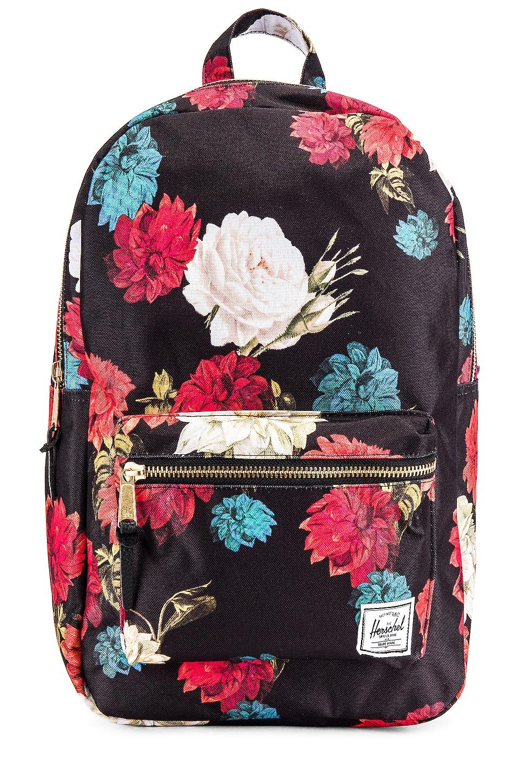 Herschel Supply Co. Settlement Mid Volume Backpack in Vintage Floral Black