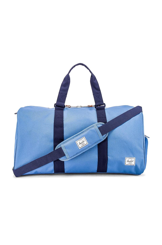 Herschel Supply Co. Novel Mid Volume Duffle Bag in Riverside & Peacoat
