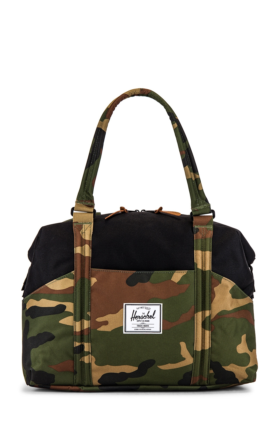 Herschel Supply Co. Strand 28.5L Duffle in Woodland Camo & Black