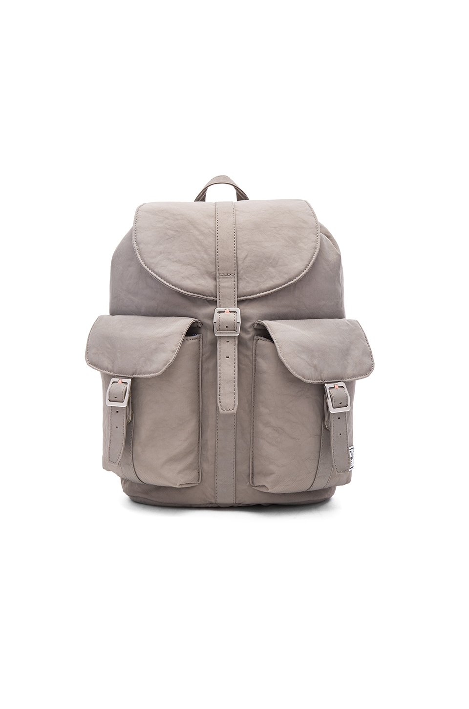 5ad3d8fcd5d Herschel Supply Co. Dawson Backpack in Agate Grey   Veggie Tan Leather