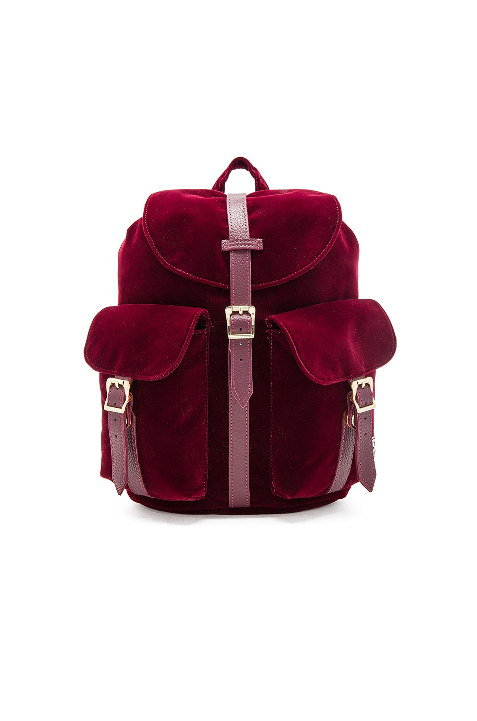 Herschel Supply Co. Velvet Dawson in Windsor Wine