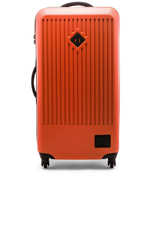 Herschel Supply Co. Trade Large Suitcase in Vermillion Orange