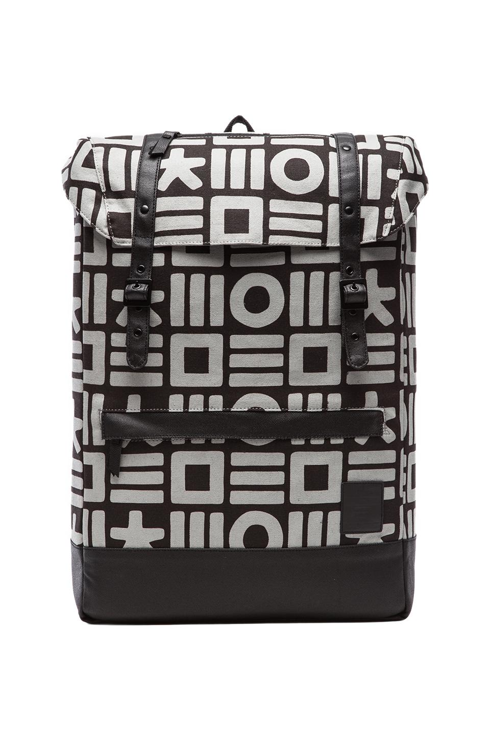 HEX Cloak Backpack in Black & Grey