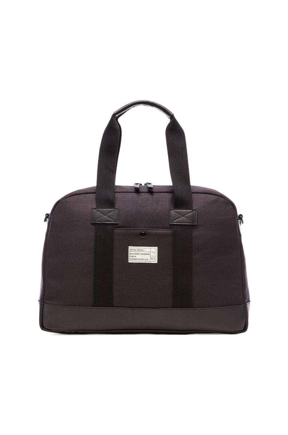 HEX Laptop Duffle in Black
