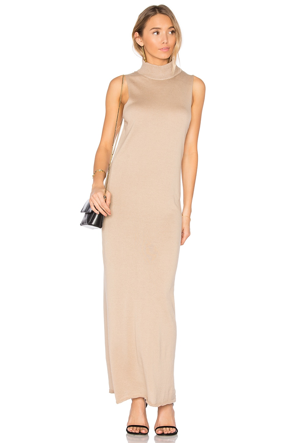 HELFRICH Carl Maxi Dress in Camel