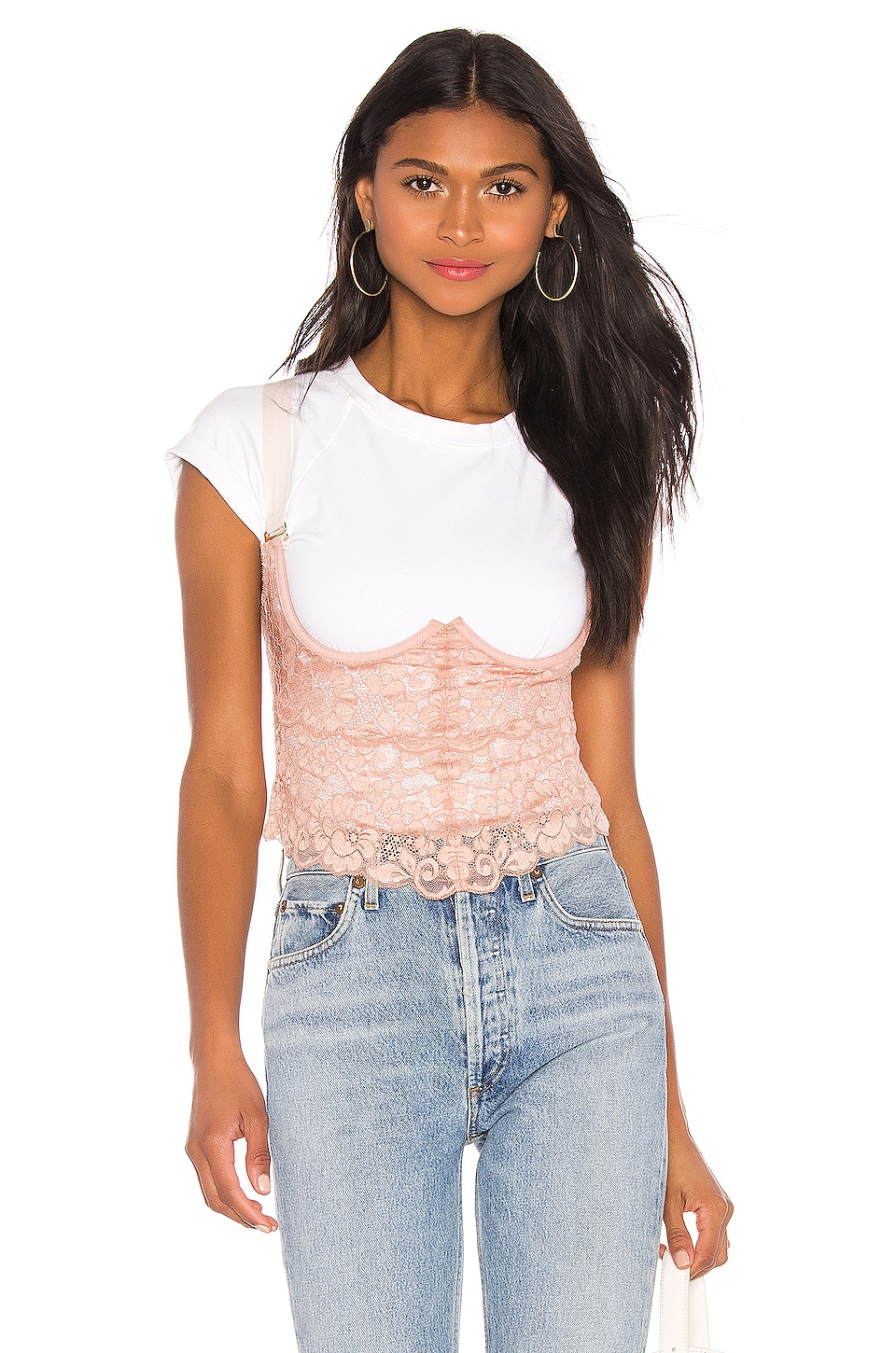 HAH Busta Move Bustier en Copper Rose