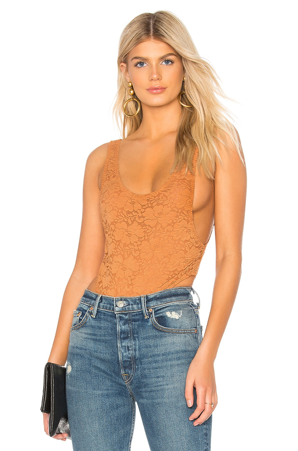 HOT AS HELL REBECCHAH LACE BODYSUIT