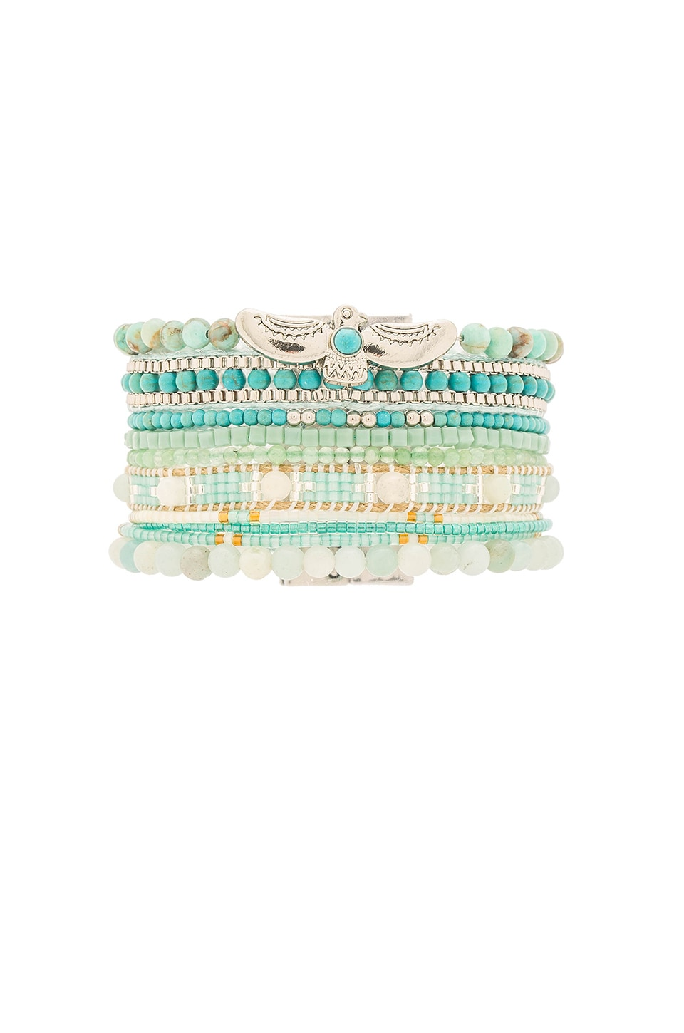 HiPANEMA Multi Bracelet in Aqua
