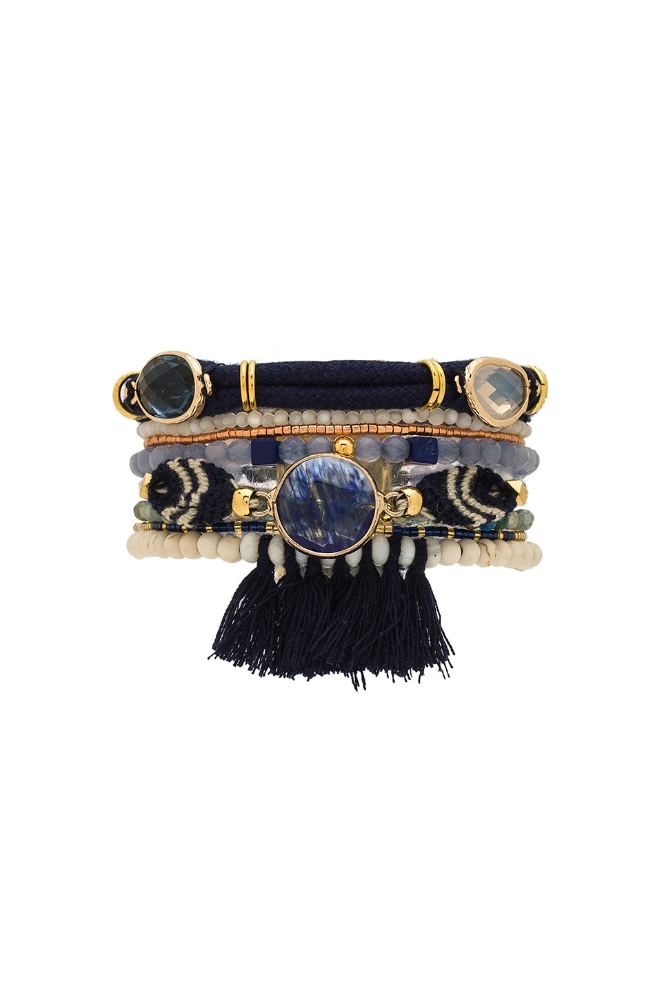 HiPANEMA Athena Bracelet in Black Multi