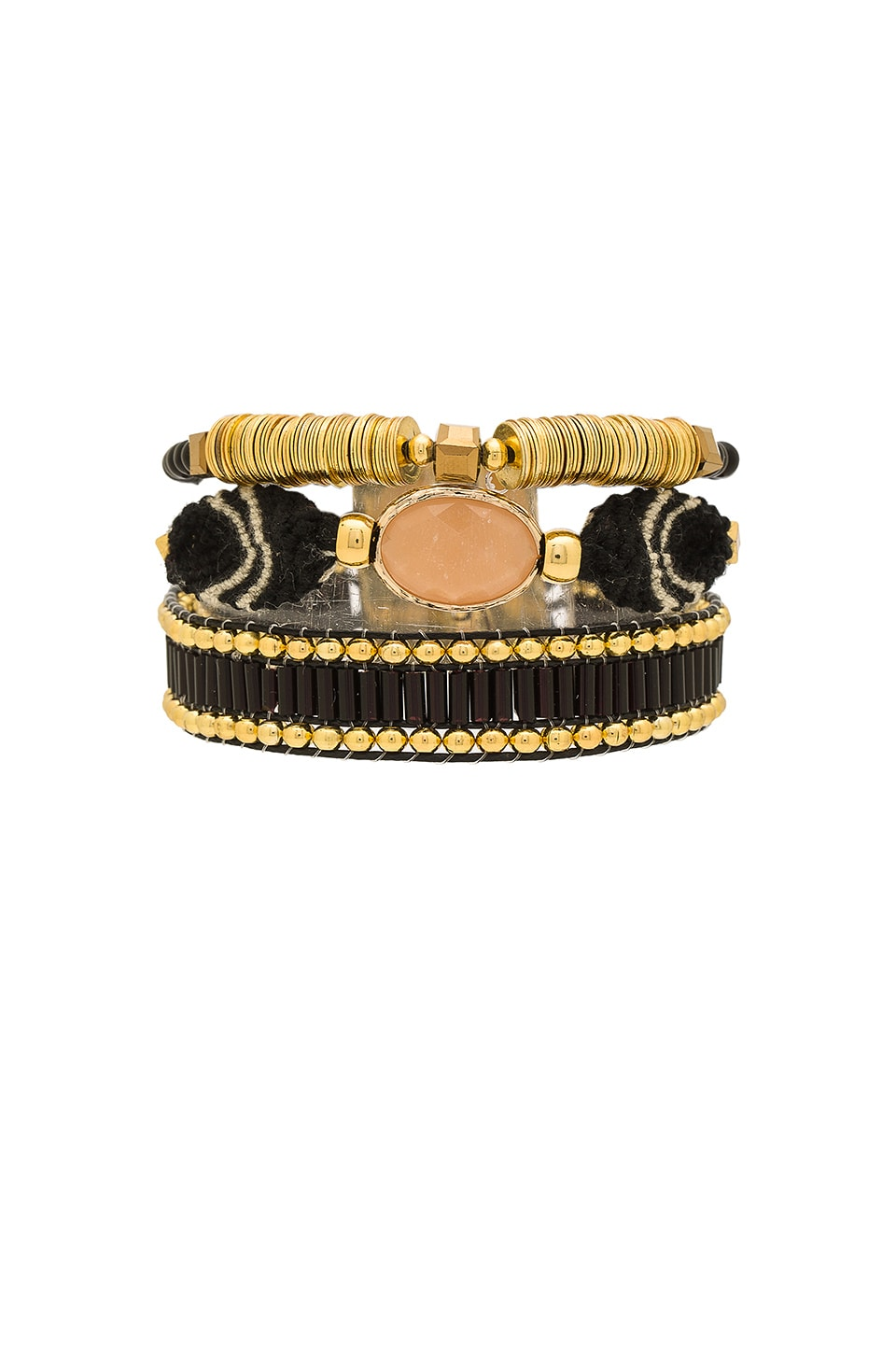 HiPANEMA Mini Lana Bracelet in Black