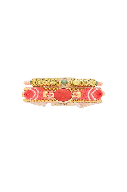 HiPANEMA Sophie Mini Bracelet in Coral