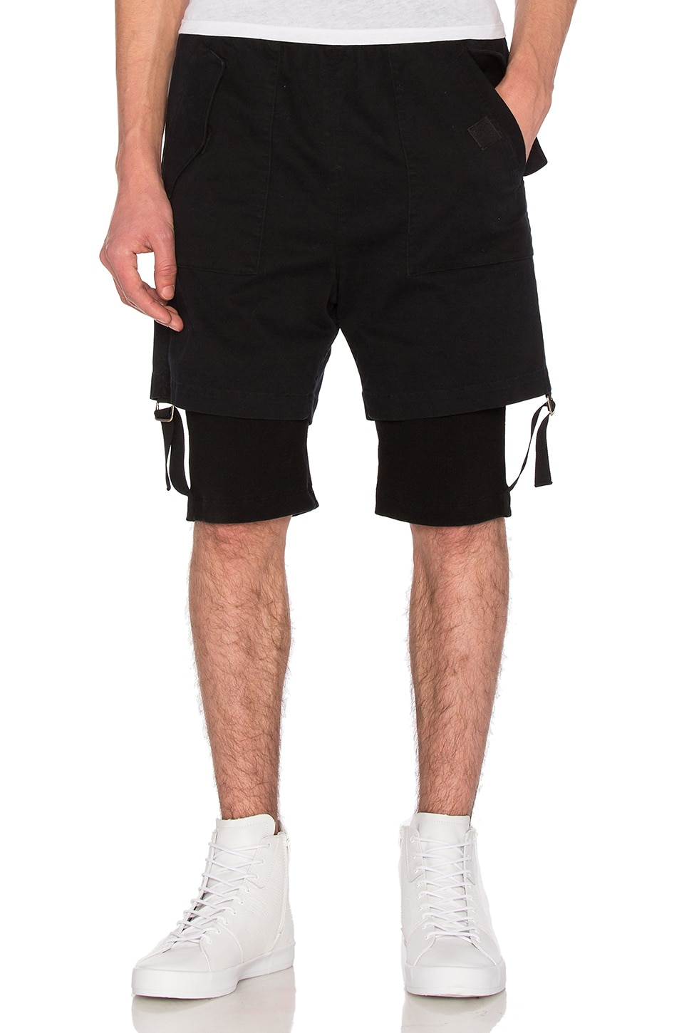 Double Layer Shorts by Helmut Lang