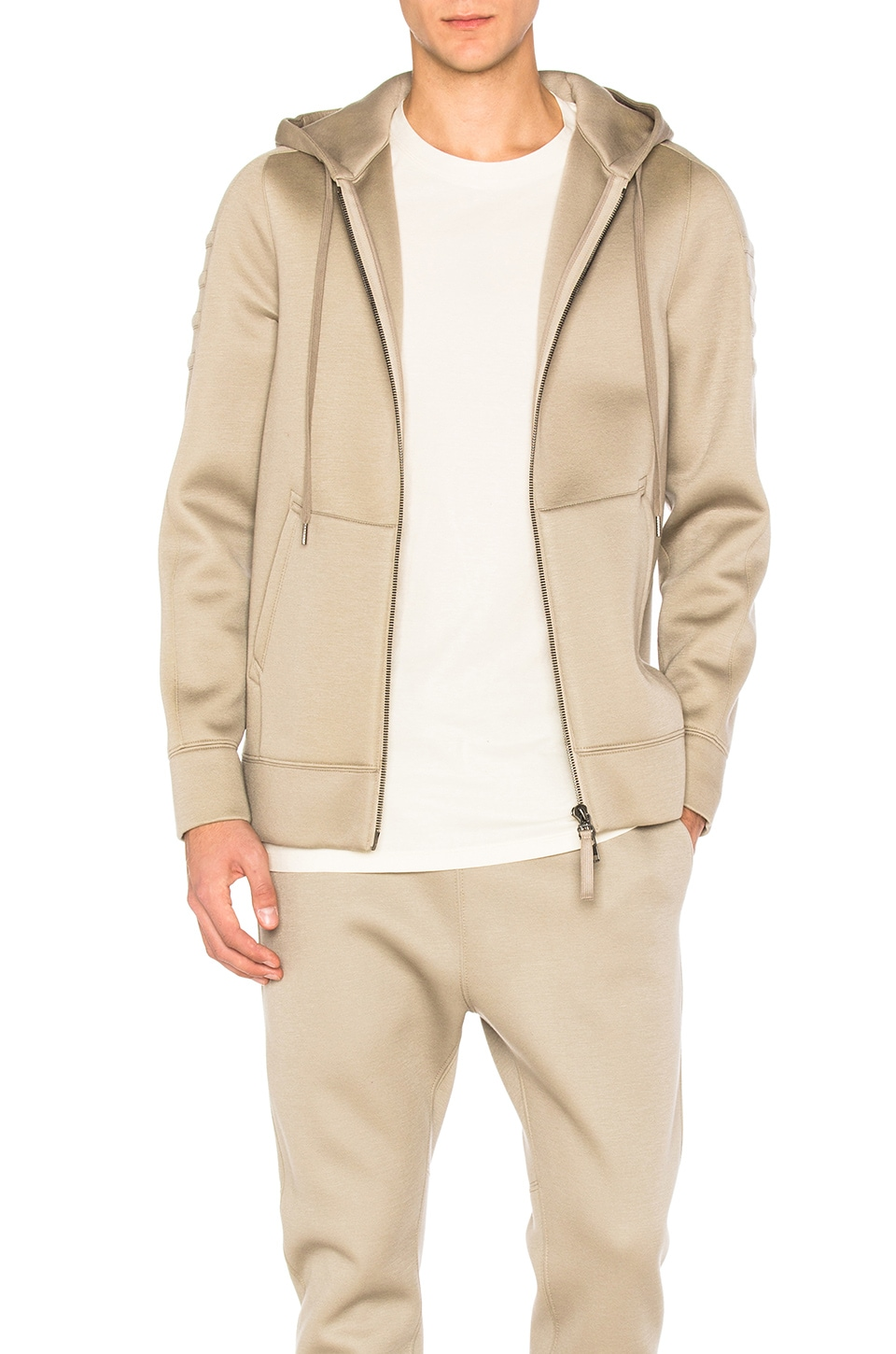 Tape Zip Up by Helmut Lang