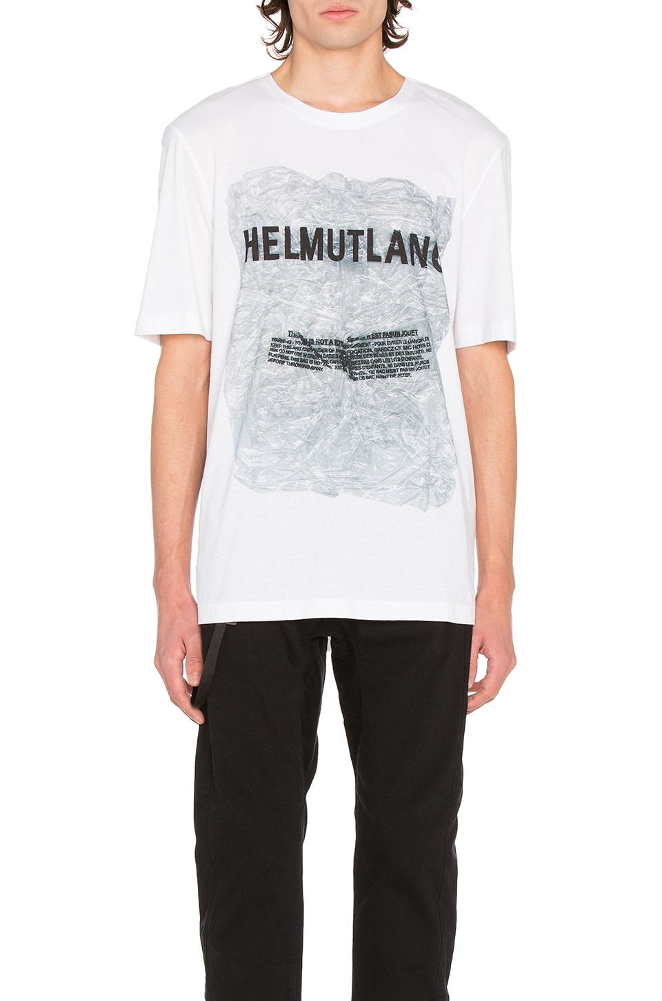 Box Fit S/S Tee by Helmut Lang