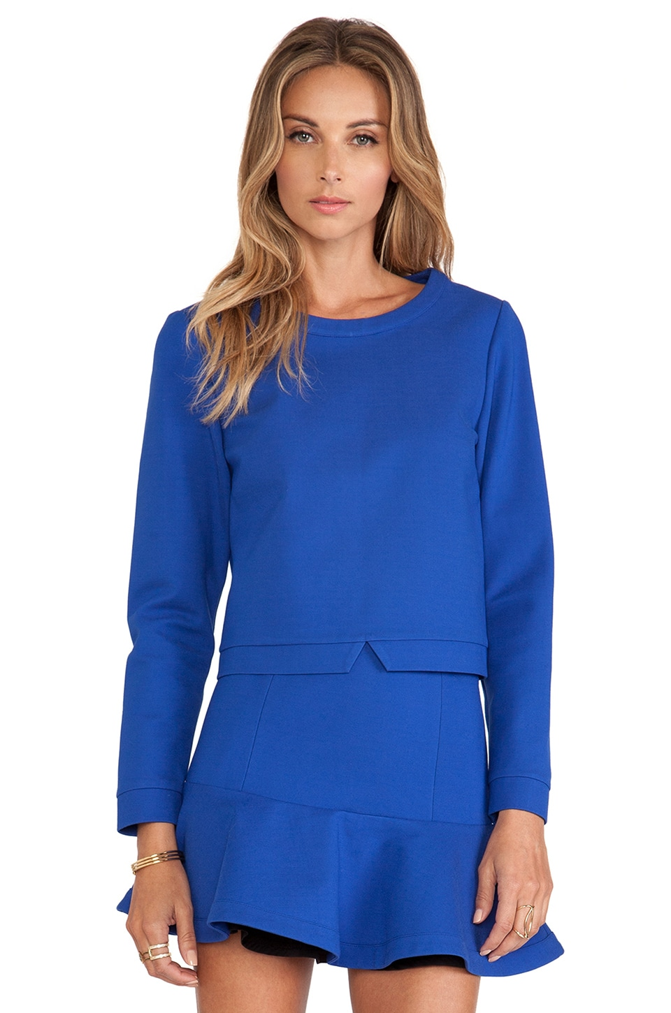 harlyn The Gala Pullover in Blue