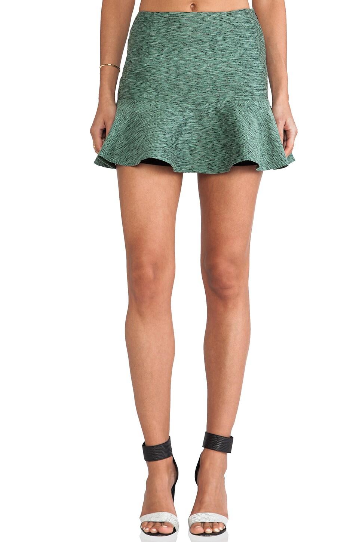 harlyn Peplum Skirt in Mint
