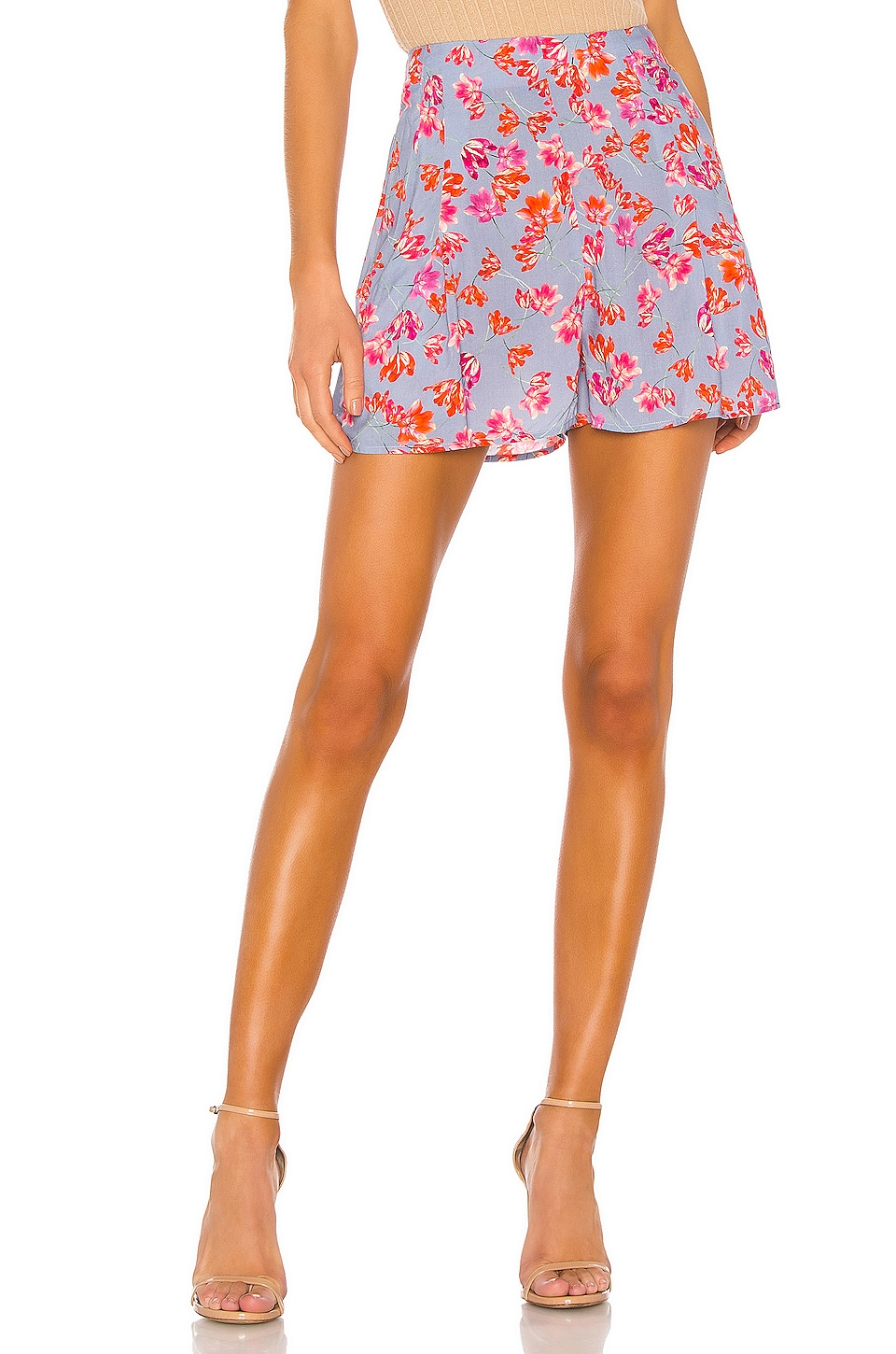 Hofmann Copenhagen Michelle Short in Pacific Blue Print