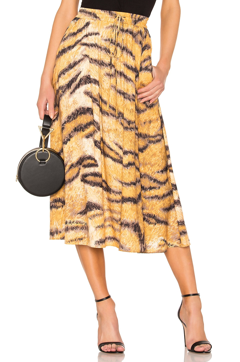 Hofmann Copenhagen Belle Skirt in Golden Hour Print