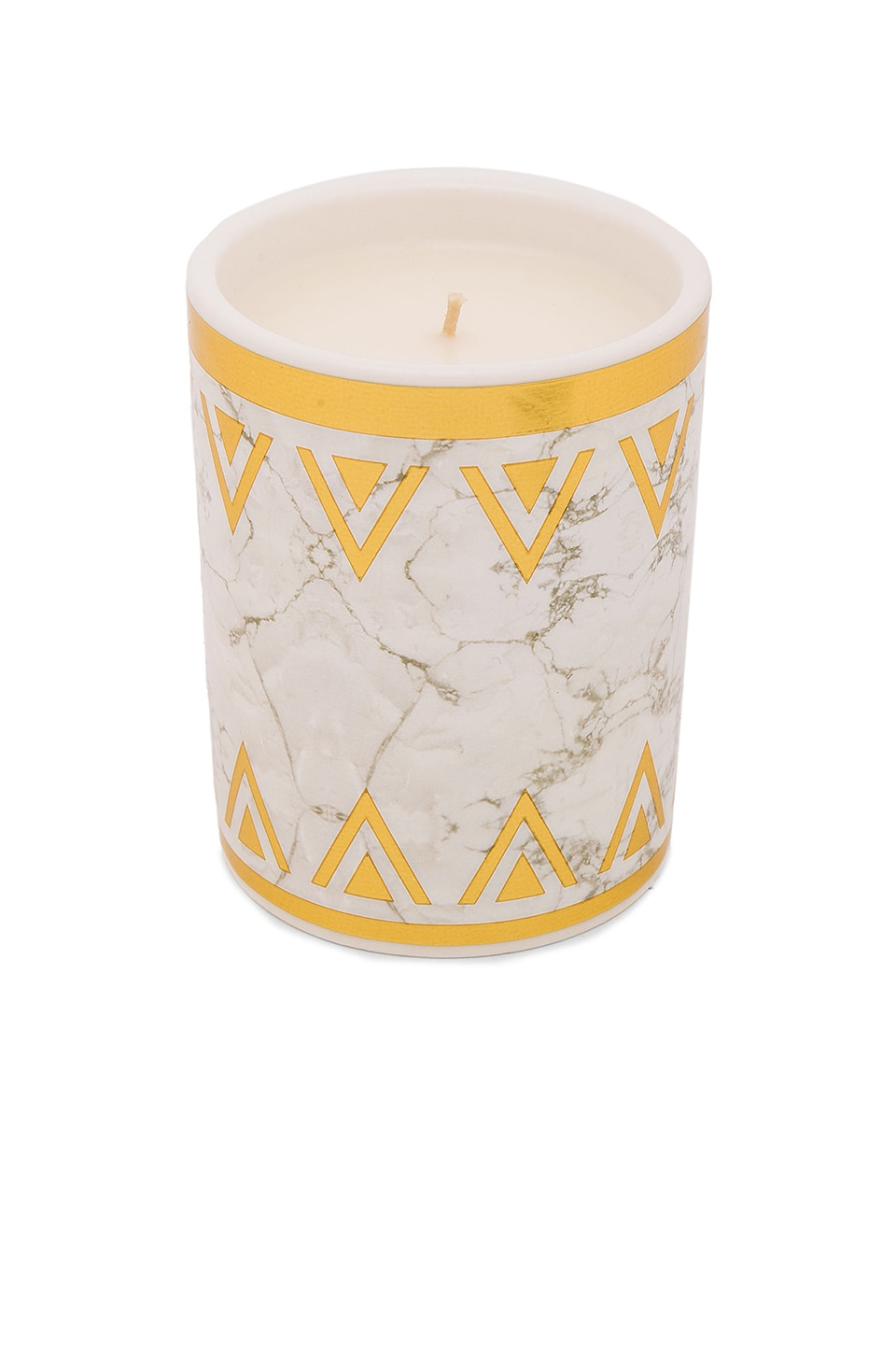 House of Harlow 1960 House of Harlow Flower Child Candle in White & Gold