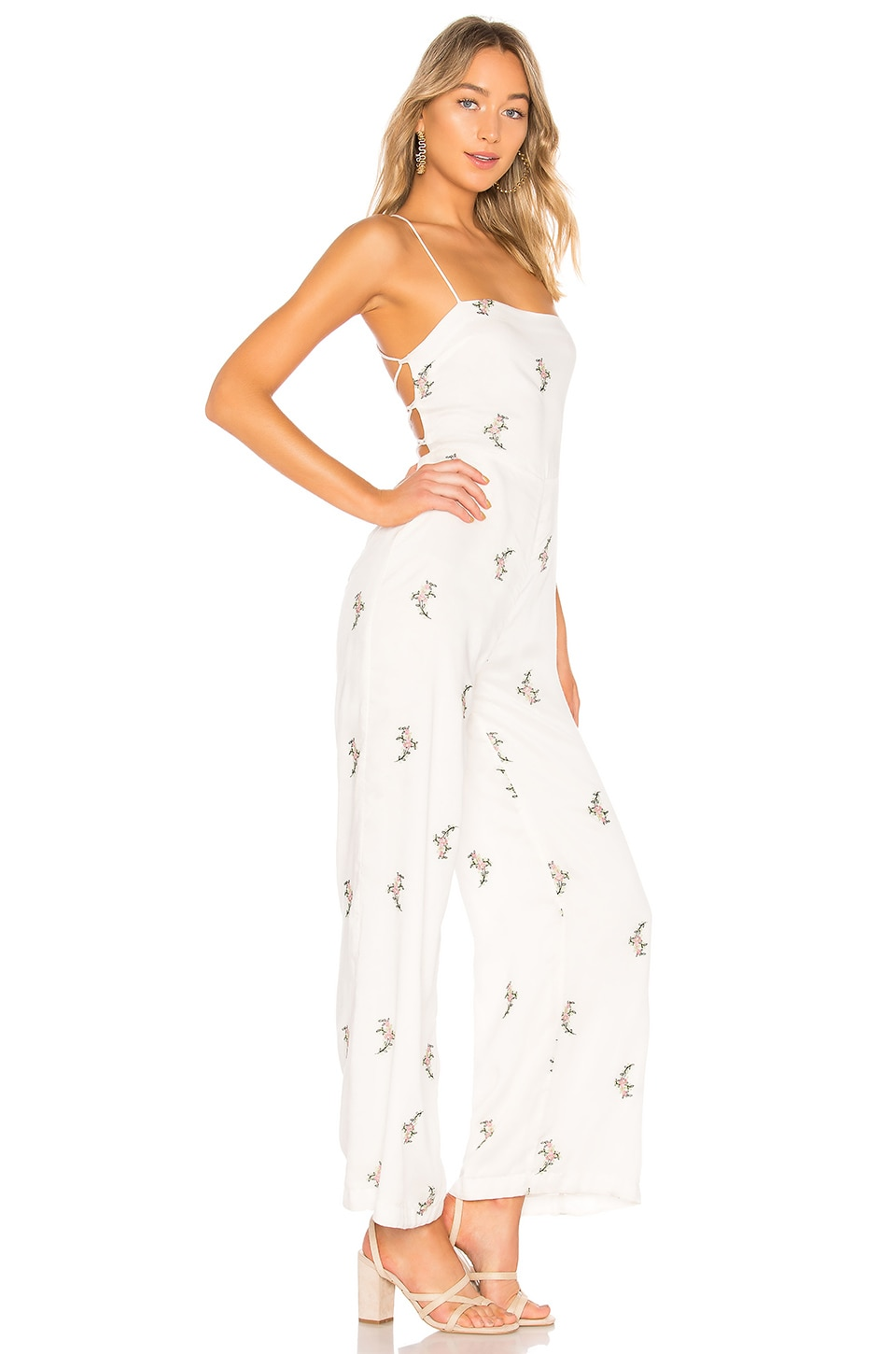 House of Harlow 1960 x REVOLVE Natalie Jumpsuit in White