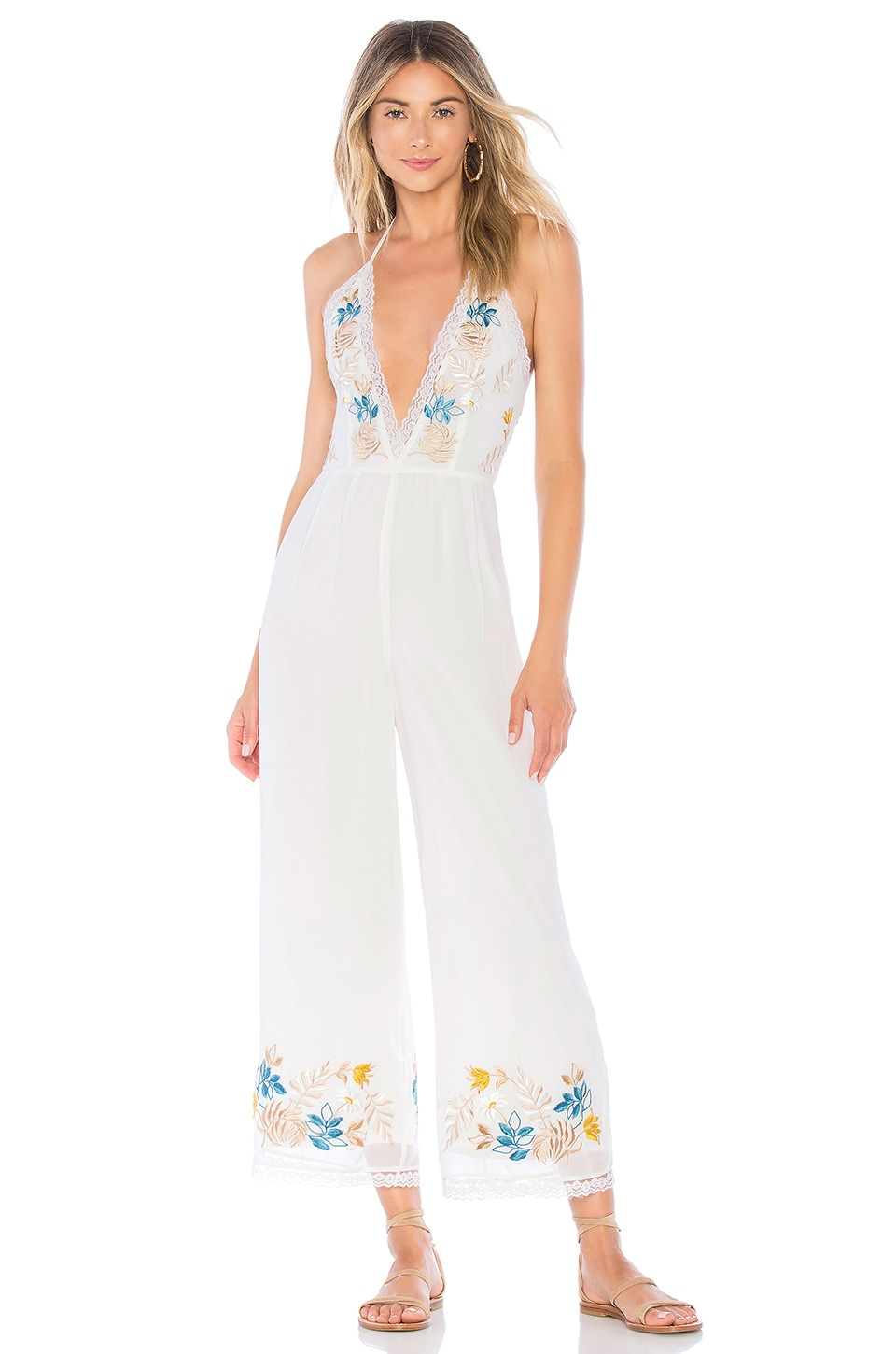 X REVOLVE MONET JUMPSUIT