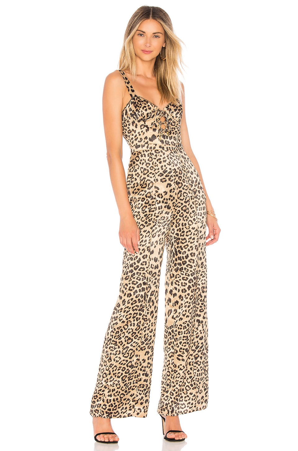 House of Harlow 1960 x REVOLVE Linda Jumpsuit in Leopard